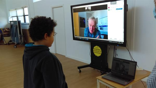 Video Conference with Professor Luke O'Neill