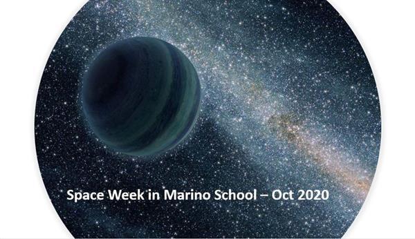 Space Week in Marino School - Oct 2020