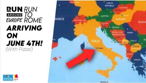 Active School Challenge - Run around Europe 2021